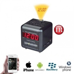 WIFI Radio Clock IP Camera PLUS