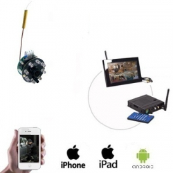 Draadloze Spy Camera LCD / DVR