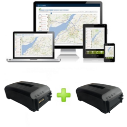 Trackitt Portable GPS Tracker PRO Magneet + Accupack