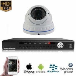 "1x Dome Camera Set Wit 720P HD <span class=""smallText"">[41059]</span>"
