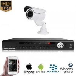 1x IR Camera Set 720P HD