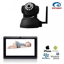 IP Camera with WIFI Babyfoon + 7 Inch Tablet