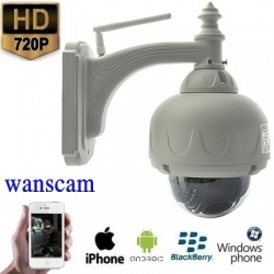 "WIFI PTZ Dome IP Camera HD met SD Kaart Opname Functie <span class=""smallText"">[40412]</span>"