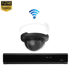 "1x Dome IP Camera 1080P POE Draadloos <span class=""smallText"">[41369]</span>"