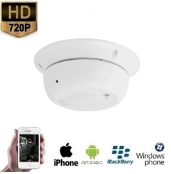 WIFI Rookmelder IP Camera 720P HD
