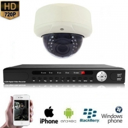 "1x Dome Camera Set 720P HD <span class=""smallText"">[41060]</span>"