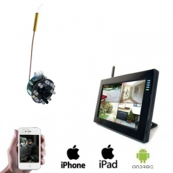 1x Wireless Spy Camera LCD DVR